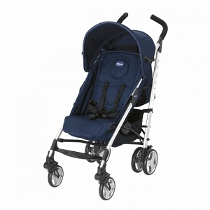 4.Chicco Lite Way Blue Spacerowy